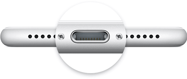 iphone 7 lightning port - iPhone Won't Charge