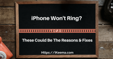 Fix iPhone Won't Ring Issue