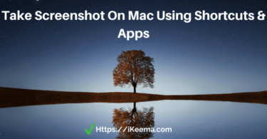 How To Take A Screenshot On Macbook