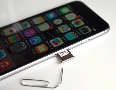 Change different sim cards for How to Check if iPhone is Unlocked