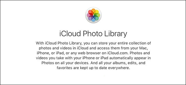 iCloud photos Library