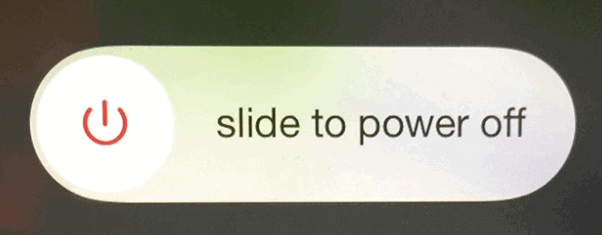 Slide To Power Off The iPhone