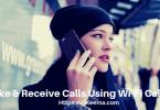 Girl Talking On iPhone WiFi Calling
