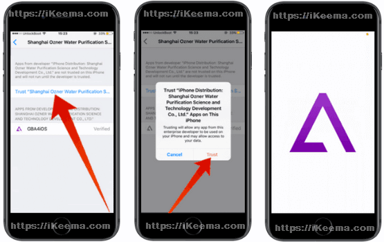Trust Untrusted Enterprise Developer iPhone Device Management