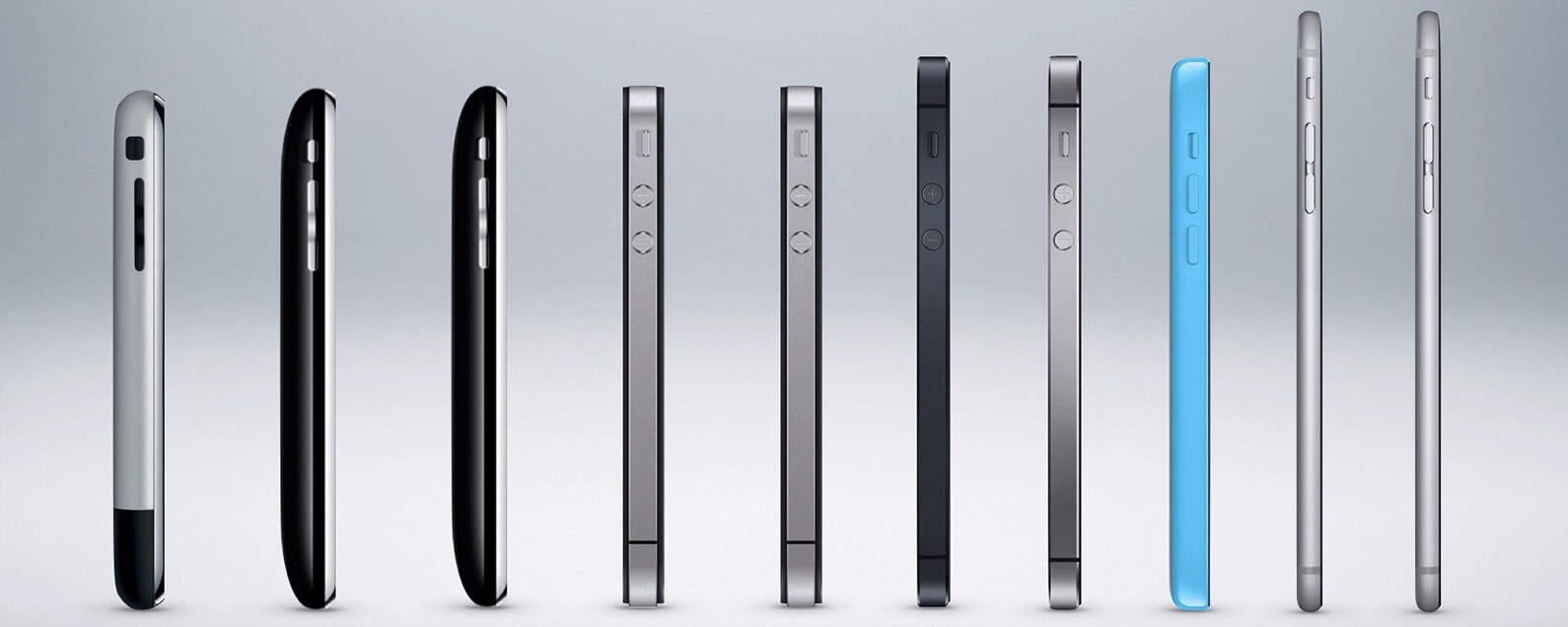 Different models of i-phone