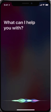 Get Covid 19 information from siri