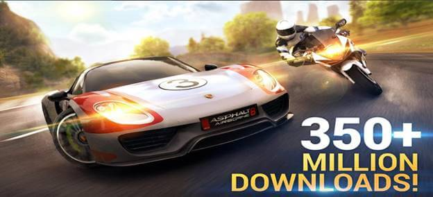 Asphalt8 Airborne Top iOS Racing Game