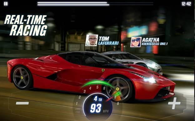 Best iOS Game CSR Racing 2