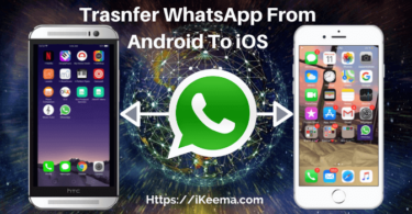 How To Trasnfer WhatsApp From Android To iPhone