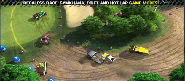 Reckless Racing 3 Best iPhone Drift Gaming