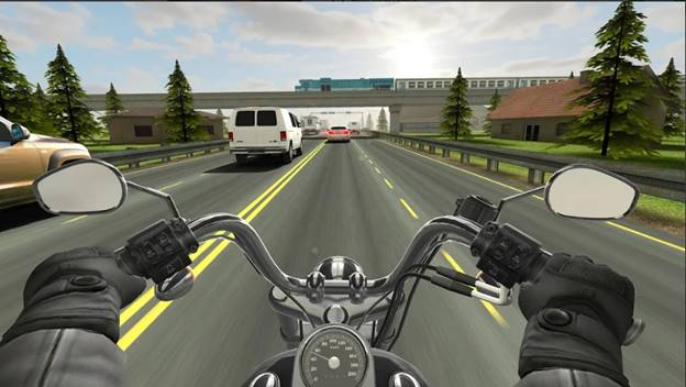 Traffic Rider Best iPhone Biker Game