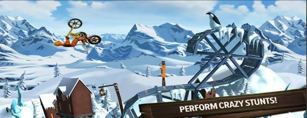 Trails Frontier No. 1 iPhone Stunt Game