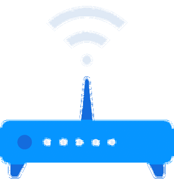 Wireless modem router wi-fi connectivity